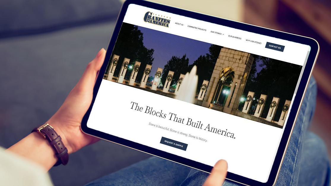 Granites of America website