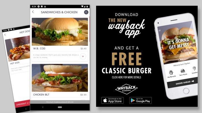 Wayback App Design